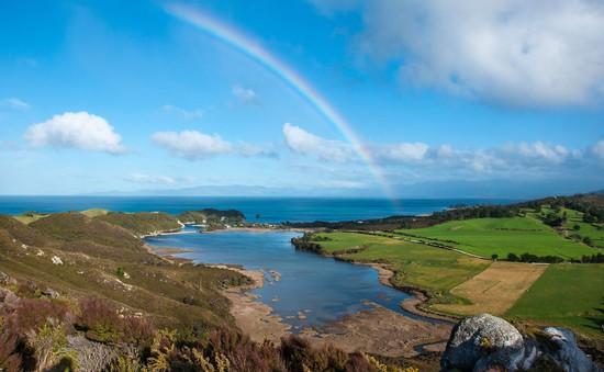 Lạc bước trên hòn đảo thiên đường ở New Zealand