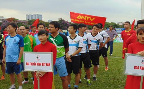 VTV tham gia Giải bóng đá phong trào các cơ quan báo chí Press Cup 2016