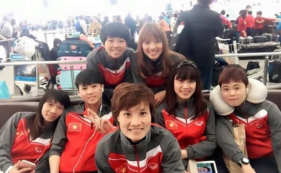 ĐT nữ Việt Nam háo hức lên đường sang Nhật Bản