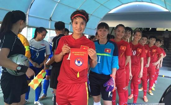 Hủy diệt Singapore 14-0, ĐT nữ Việt Nam suýt phá kỷ lục trận thắng đậm nhất