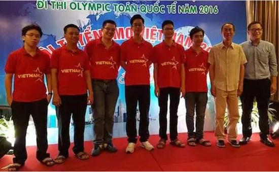 Cả 6 em ĐT Việt Nam đoạt giải Olympic Toán học quốc tế 2016