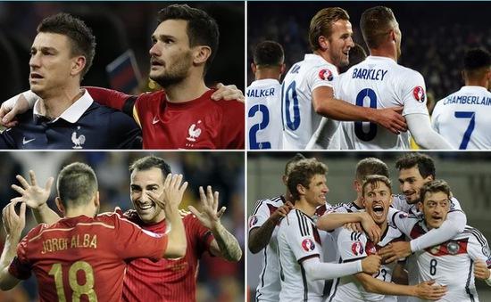 Lượt trận đầu tiên vòng bảng EURO 2016: Dấu ấn những đội bóng lớn