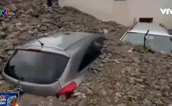 Lũ lụt nghiêm trọng tại Đức, ít nhất 4 người thiệt mạng