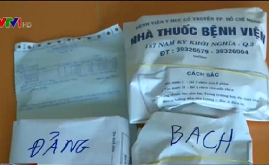 """TP.HCM: """"Thổi"""" giá dược liệu trôi nổi, ngang nhiên """"móc túi"""" người bệnh tại bệnh viện"""