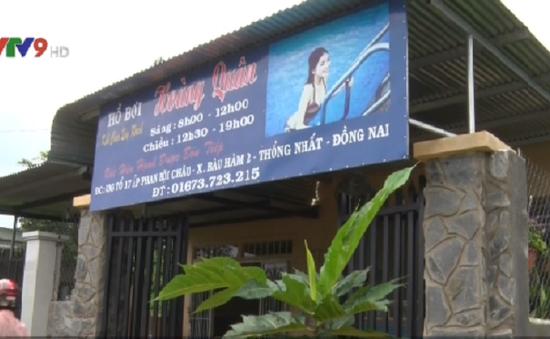 Đồng Nai: Một học sinh lớp 4 chết đuối tại hồ bơi