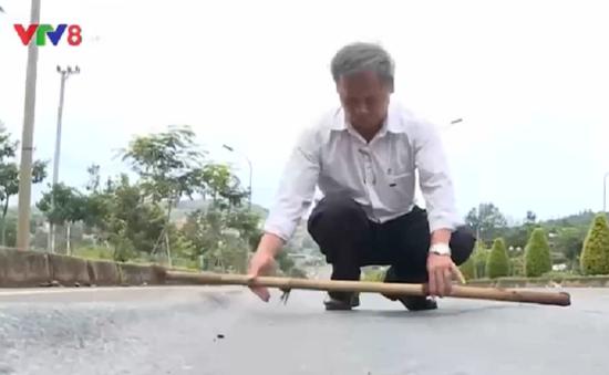 Khắc phục sụt lún trên đường Hồ Chí Minh đoạn qua Tây Nguyên