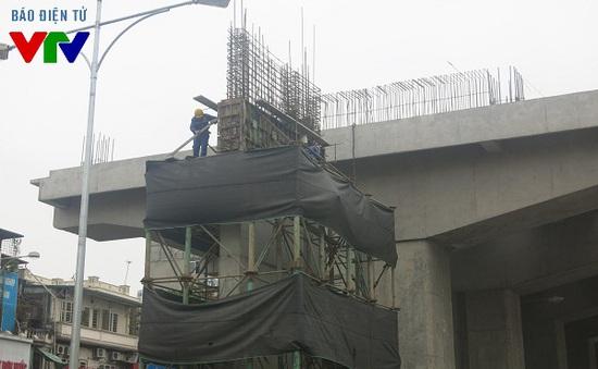 Lại rơi thanh sắt tại dự án đường sắt Cát Linh – Hà Đông