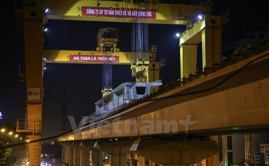 Sẽ khai thác đường sắt Cát Linh - Hà Đông từ cuối năm 2016