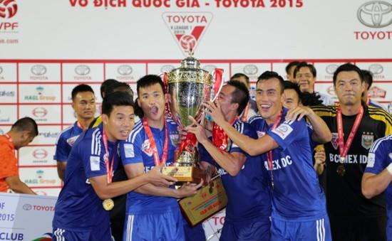 Becamex Bình Dương lọt top 5 CLB xuất sắc châu Á 2015