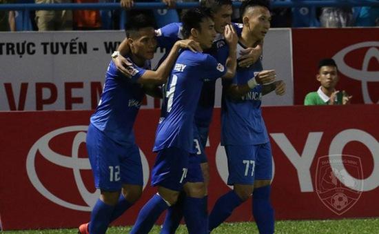 VIDEO, Than Quảng Ninh 3-1 HAGL: Chủ nhà giành ngôi đầu bảng