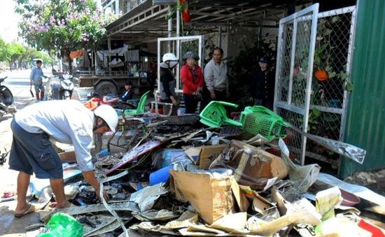 Cháy nhà tại Lâm Đồng, 1 người thiệt mạng