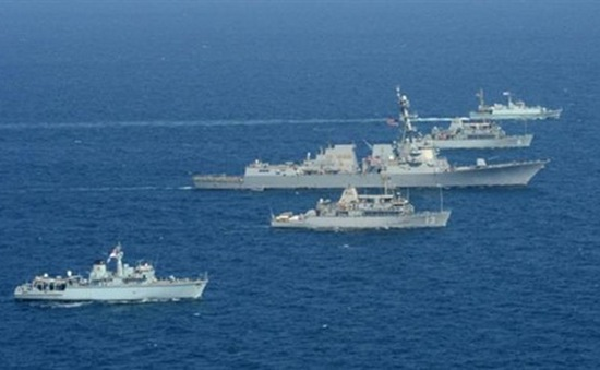 Tập trận trên biển quy mô lớn nhất thế giới tại vùng Vịnh