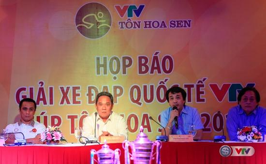 Họp báo giải đua xe đạp Quốc tế VTV – Cúp Tôn Hoa Sen 2016: Ý nghĩa, ấn tượng và chuyên nghiệp!