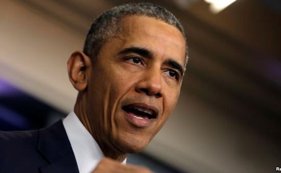 Tổng thống Mỹ phát biểu cảm ơn vợ và mẹ vợ