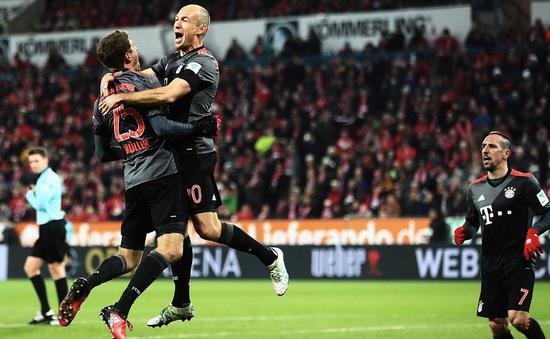 """VIDEO, Mainz 1-3 Bayern Munich: """"Hùm xám"""" ngược dòng ngoạn mục"""