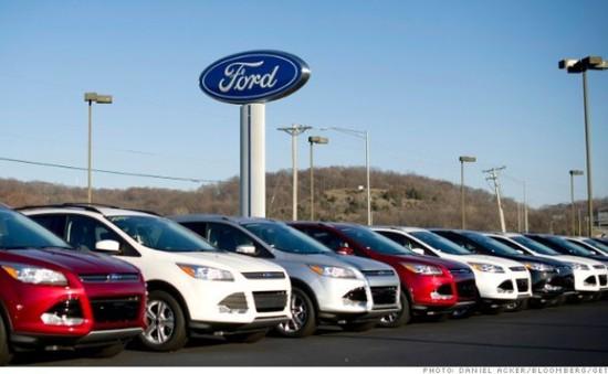 Ford thu hồi 280.000 xe