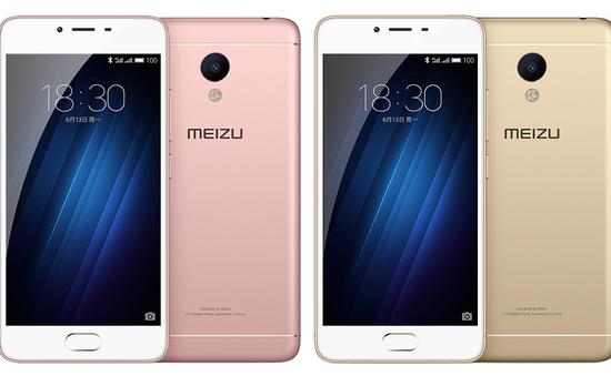 Smartphone giá rẻ Meizu M3S ra mắt tại Trung Quốc