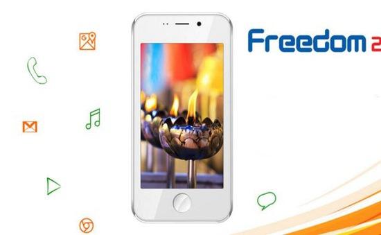 Freedom 251 - Smartphone 4 USD tái xuất, lên kệ ngày 30/6