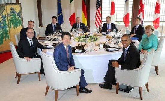 G7 nhất trí ra tuyên bố mạnh mẽ về tình hình Biển Đông