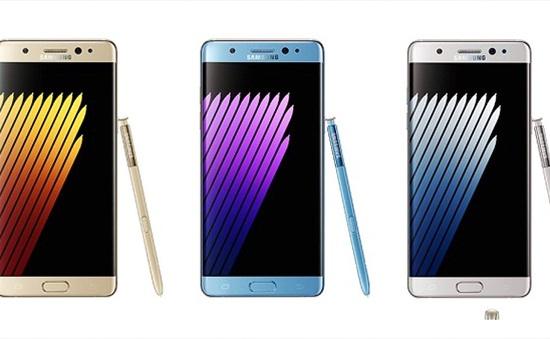 Tải ngay hình nền dành cho Galaxy Note 7