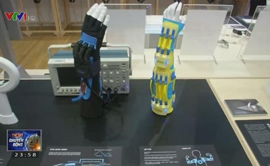 Găng tay hỗ trợ điều trị mỏi tay chân, liệt cơ