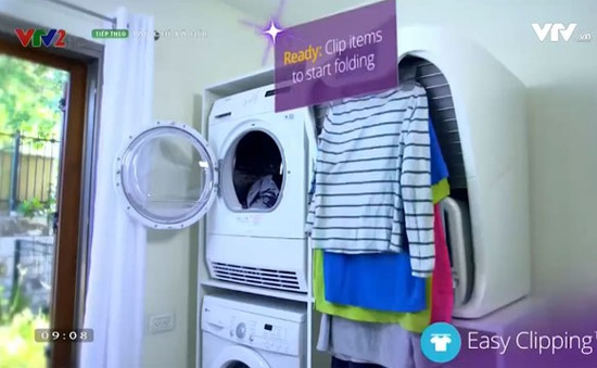 Độc đáo cỗ máy gấp quần áo FoldiMate