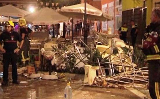 Nổ khí gas tại Tây Ban Nha, ít nhất 77 người bị thương