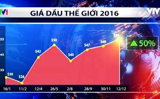 Diễn biến giá dầu 2016: Nhiều bất ngờ
