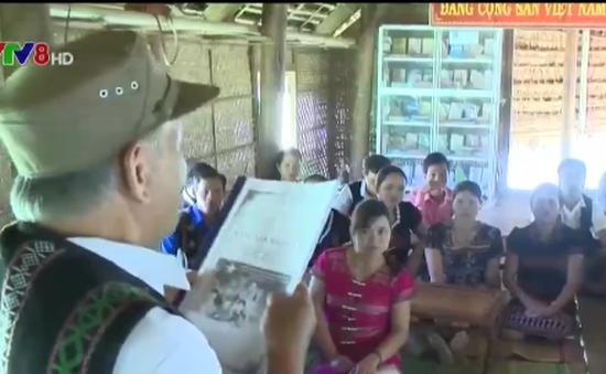 Phát huy vai trò của già làng trưởng bản với công tác tuyên truyền bầu cử