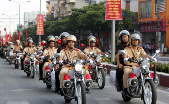 Ninh Bình ra quân trong tháng an toàn giao thông