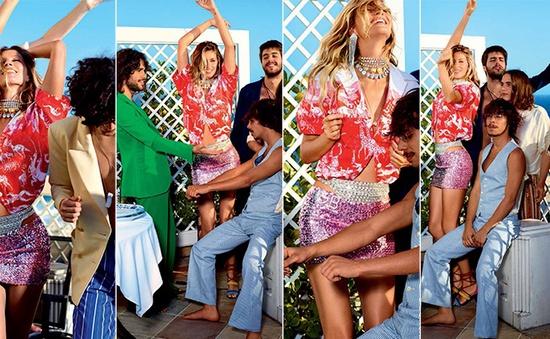 Gisele Bundchen tươi trẻ trên Vogue Brasil