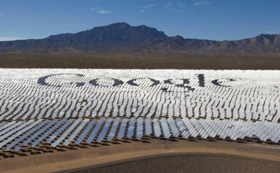 Năm 2017: Google sẽ sử dụng 100% năng lượng tái tạo