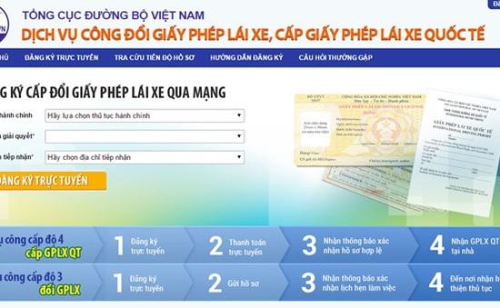 Cách đăng ký cấp giấy phép lái xe quốc tế qua mạng