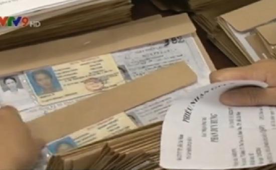 TP.HCM phát hiện hơn 700 giấy phép lái xe giả