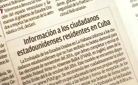 Báo Cuba lần đầu đăng thông tin hướng dẫn cử tri Mỹ