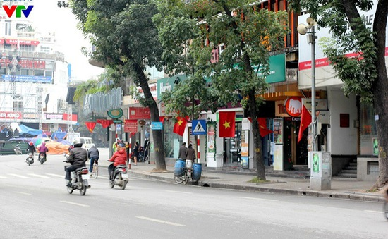 """Những tuyến đường Hà Nội """"đại tắc"""" bỗng vắng tanh"""