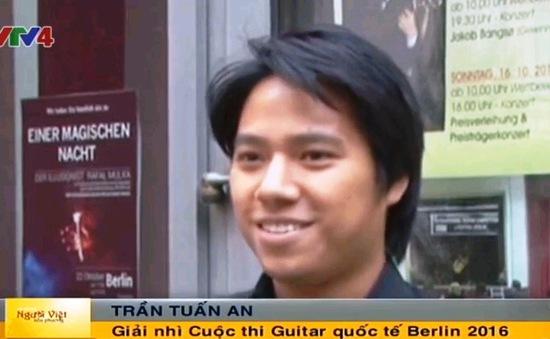 Thí sinh Việt Nam đoạt giải tại Cuộc thi Guitar quốc tế Berlin 2016