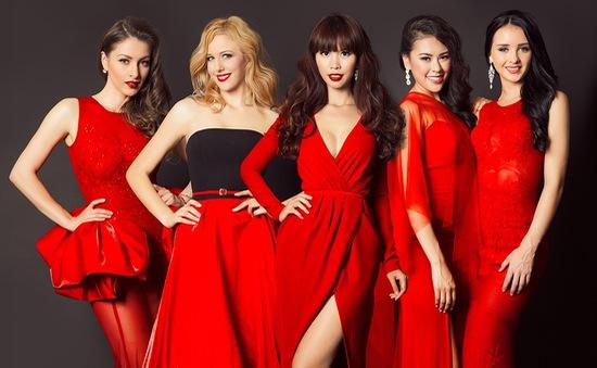 Hà Anh quyến rũ bên Hoa hậu, Á hậu Toàn cầu