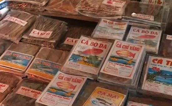 Khánh Hòa: Mập mờ chất lượng hải sản khô