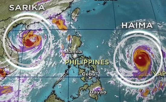 Philippines tích cực chuẩn bị đối phó siêu bão Haima