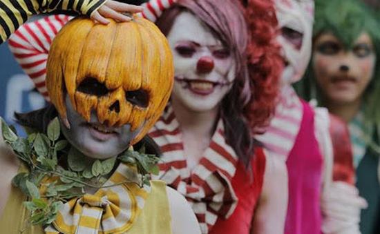 Hoành tráng lễ diễu hành Halloween tại Nhật Bản