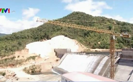 Thông hầm dẫn nước công trình thủy điện Krông Nô 2
