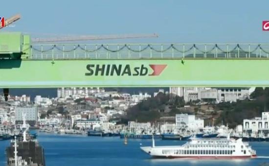 Ngành công nghiệp đóng tàu Hàn Quốc suy thoái trầm trọng