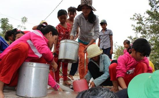 """Gia tăng những làng """"khát nước"""" ở Ninh Thuận"""