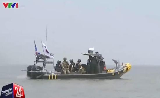 Hàn Quốc tuần tra ngăn chặn tàu cá Trung Quốc hoạt động bất hợp pháp
