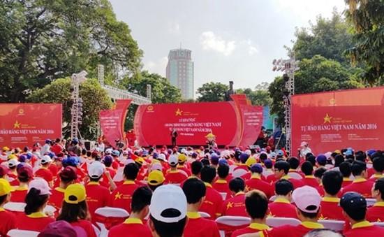 """Phát động chương trình """"Tự hào hàng Việt Nam năm 2016"""""""