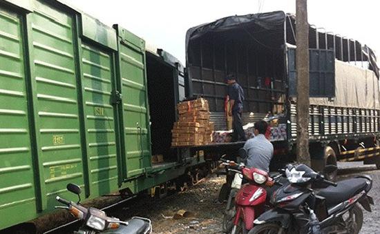 Phát hiện một số xe máy ăn cắp được vận chuyển qua đường sắt