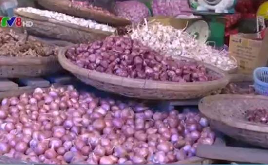 Nông sản ngoại nhập lấn án nông sản nội