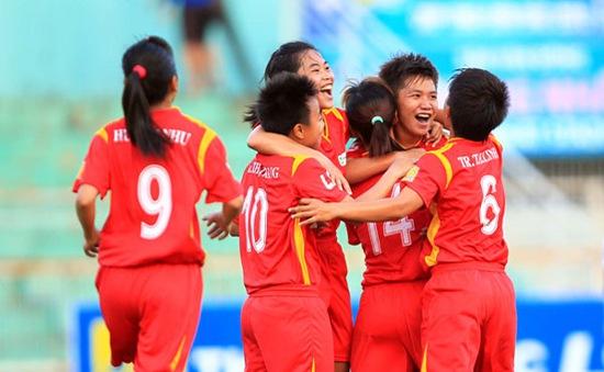 TP.Hồ Chí Minh I thắng đậm tại giải bóng đá nữ vô địch quốc gia