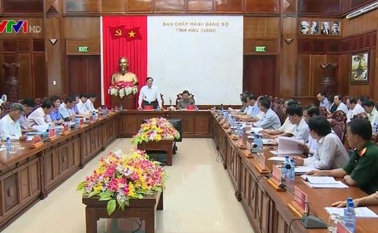 Công bố dự thảo kết quả kiểm tra phòng chống tham nhũng tại Hậu Giang